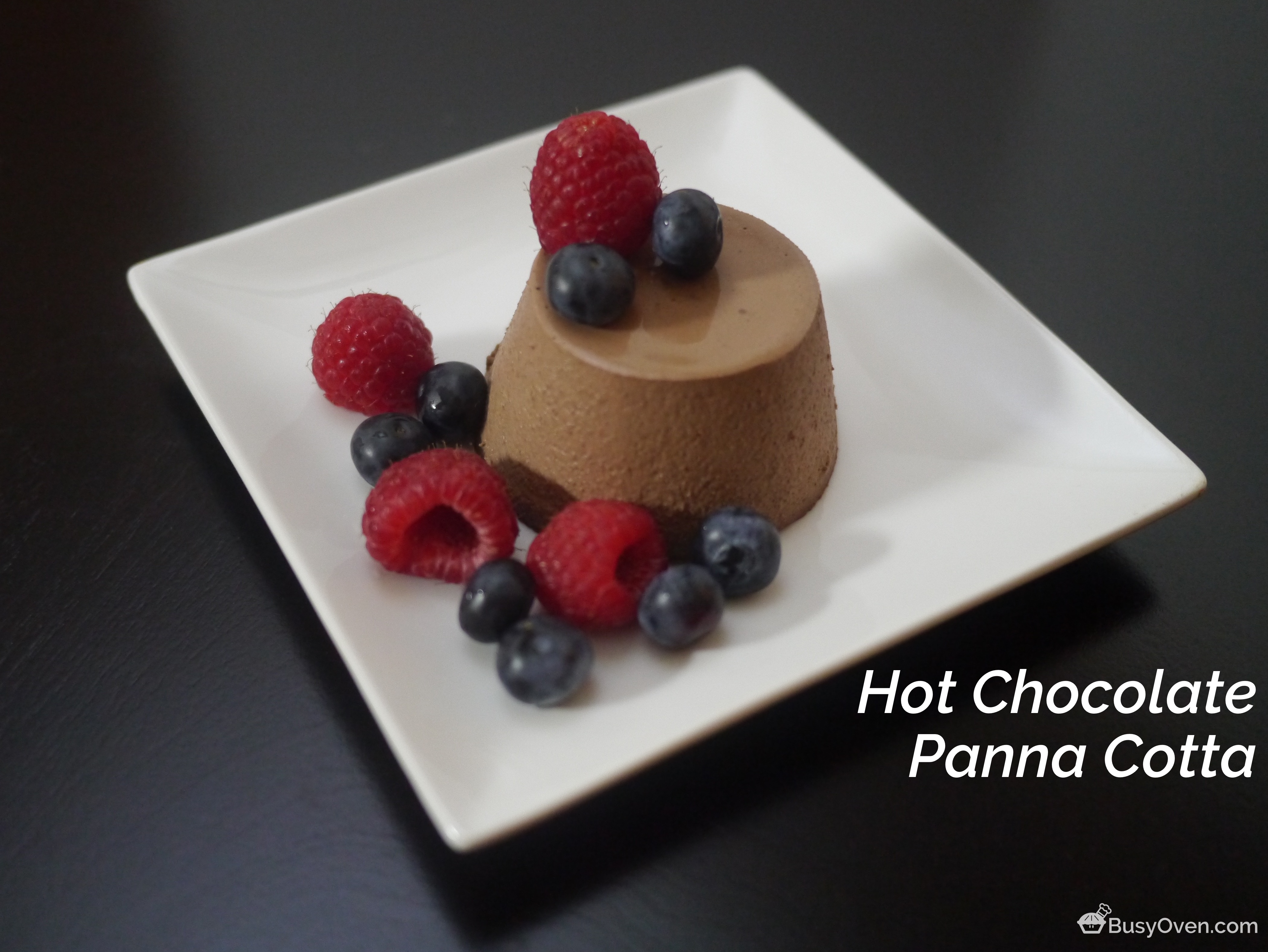 Hot Chocolate Panna Cotta