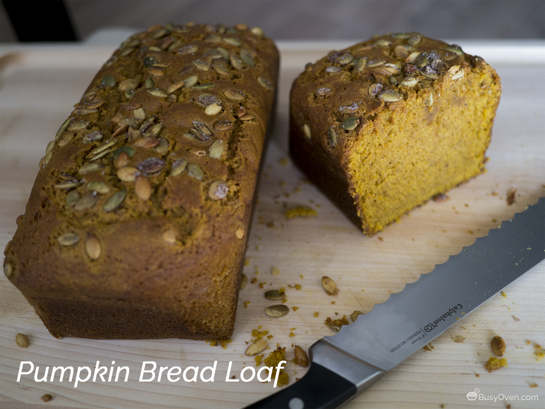 Pumpkin Bread Loaf
