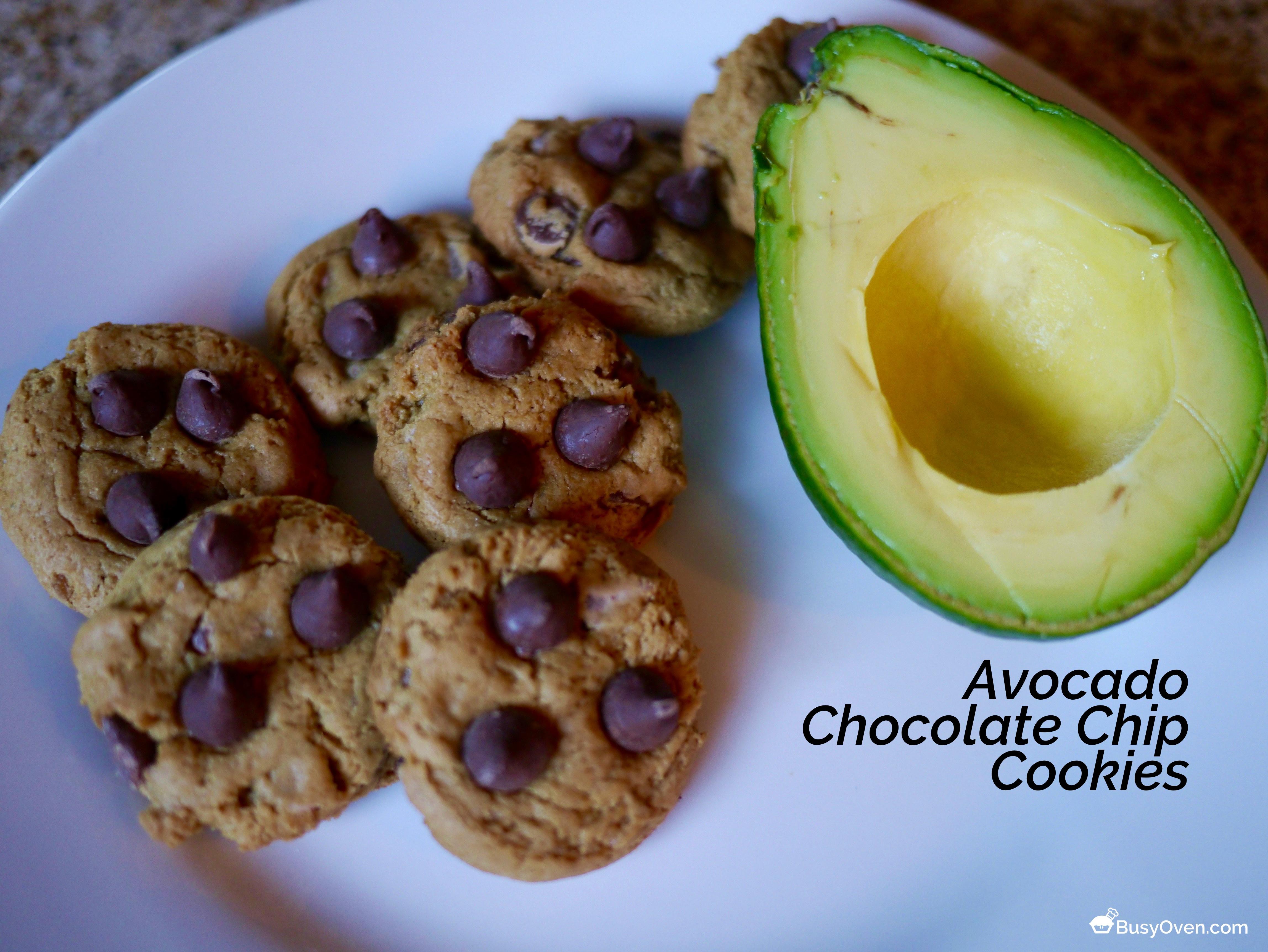 California Avocado Chocolate Chip Cookies