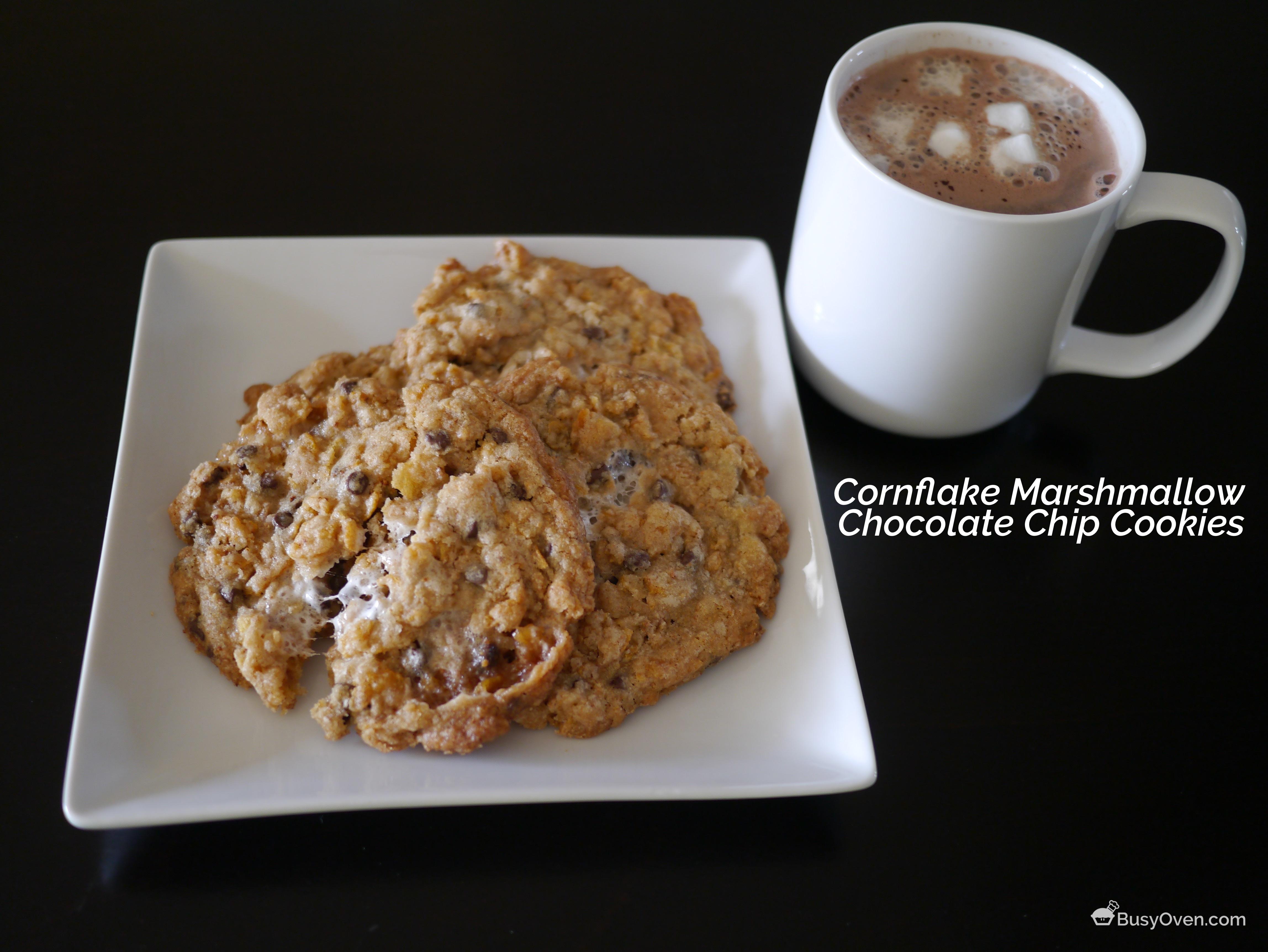Cornflake Marshmallow Chocolate Chip Cookies